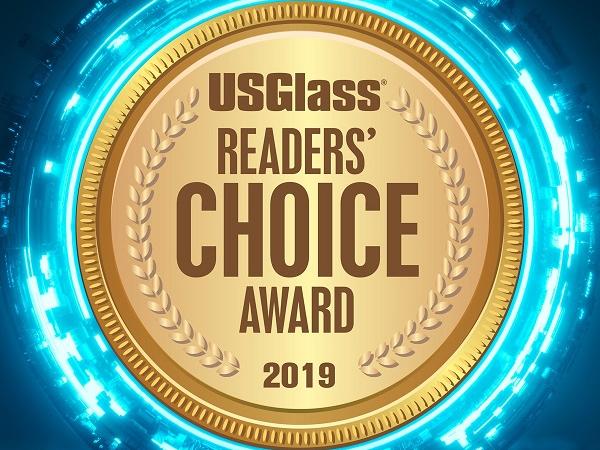 US Glass Reader's Choice Award 2019